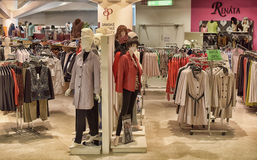 Women's clothing store. The Czech Republic, Prague Stock Photography
