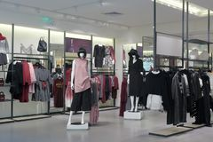 Vero moda female clothing store, adobe rgb Stock Photos