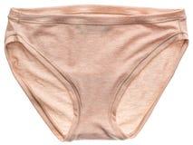 Women`s cotton panties Royalty Free Stock Photos
