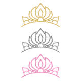 Women's crown. Stock Images