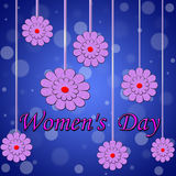 Women's day background Royalty Free Stock Images