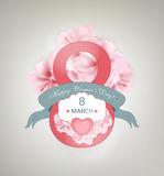 Women's Day Background Royalty Free Stock Photography