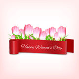 Women`s day background Stock Image