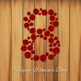 Women`s day background Royalty Free Stock Photography