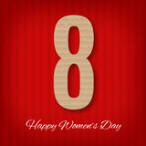 Women`s day background Stock Images