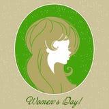 Women's day background: international holiday Stock Photography
