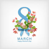 Women s Day Greeting Card Stock Images