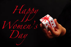 Women's day greeting Royalty Free Stock Images
