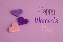 Women's day greeting Royalty Free Stock Photography