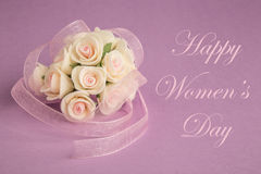 Women's day greeting Royalty Free Stock Photos
