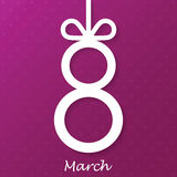 Women's Day, 8 March Royalty Free Stock Images