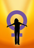 Women's Day Pride Stock Photos