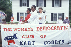 The Women's Democratic Club Stock Photo