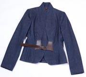 Women's denim jacket Stock Photography