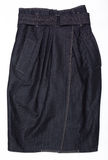 Women's Denim skirt. Stock Photos