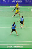 Women's Doubles,Badminton asia championships 2011 Stock Photography