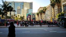 Women& x27; s endireita o LA Fotografia de Stock