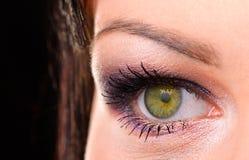 Women's eye macro Stock Image