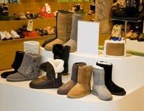 Women's fashion boot Royalty Free Stock Photos