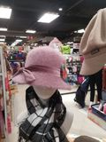 Women`s fashion hats, sold in supermarkets. In shenzhen, China Royalty Free Stock Photography