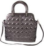 Women's fashion leather bag royalty free stock photos