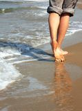 Women's feet Royalty Free Stock Photo