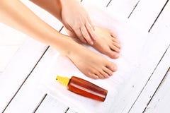 Women's feet Royalty Free Stock Image