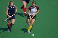 Women's field hockey Stock Photo