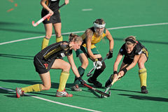 Women's field hockey Royalty Free Stock Photos