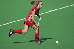 Women's field hockey Royalty Free Stock Images