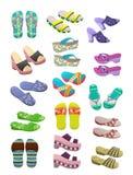 Women's flip flops Stock Photos
