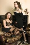 Women's friendship Royalty Free Stock Image