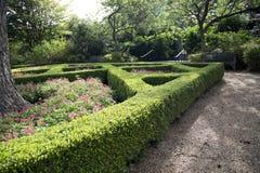 Women& x27; s-Garten in Dallas Arboretum stockfotografie