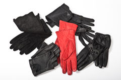 Women's gloves Stock Images
