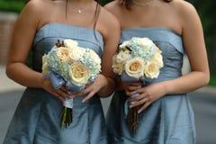 Women's Gray Strapless Dresses Stock Image