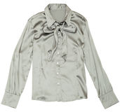 Women's grey blouse. Stock Photos