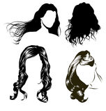 Women's Hair Stock Photos