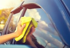 Car care concept Royalty Free Stock Photo