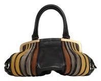 Women's handbag. Isolated on white background stock image