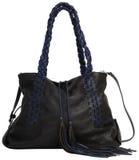 Women's handbag. Isolated on white background stock images
