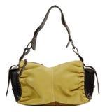 Women's handbag. Isolated on white background stock photo