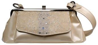 Women's handbag. Isolated on white background royalty free stock images