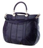 Women's handbag on a white background. Stylish women's handbag on a white background Stock Image
