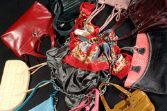Women's handbags Royalty Free Stock Photography