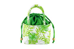 Women's handbags made ​​from silk Royalty Free Stock Images