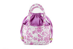 Women's handbags made ​​from silk Stock Photos