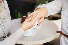 Women's hands Royalty Free Stock Photography