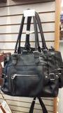 Women& x27; s handväskor, försäljningstillbehör Fotografering för Bildbyråer