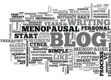 Women S Health Blogs Adventures In The Blogsphere Word Cloud Stock Image
