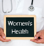 Women's health Royalty Free Stock Images